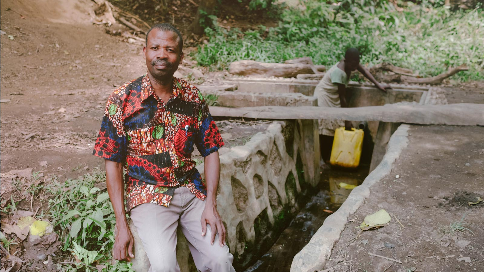 How trees provide clean water for farmers like Joram