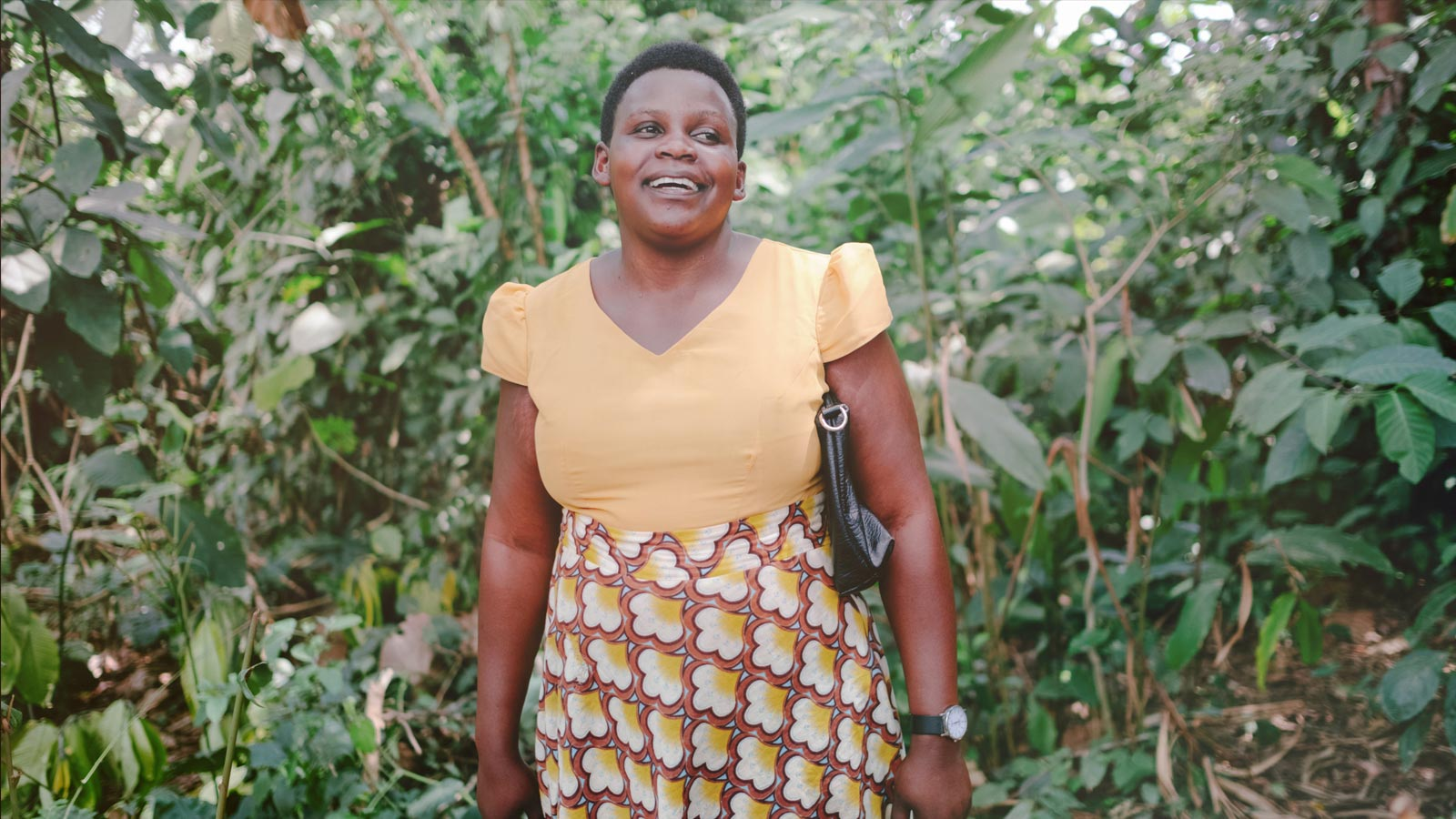 The nurse who heals forests in Uganda