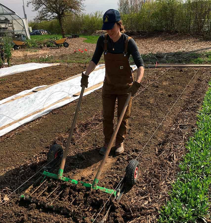 Claire-gardening