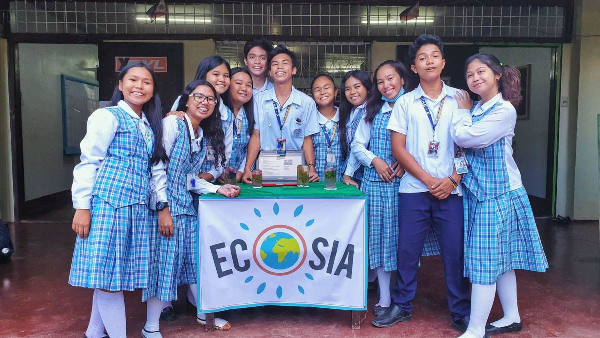 Ecosia on Campus: Meet the students planting 100k trees